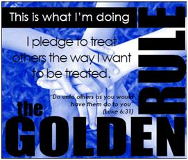 Goldren Rule Pledge